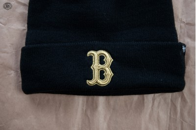 47 BRAND METALLIC 47 CUFF KNIT BOSTON