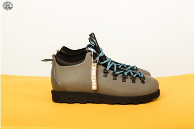 NATIVE SHOES FITZSIMMONS CITYLITE SHALE GREY JIFFY BLACK