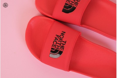 THE NORTH FACE BASE CAMP SLIDE II FIERY RED TNF BLACK