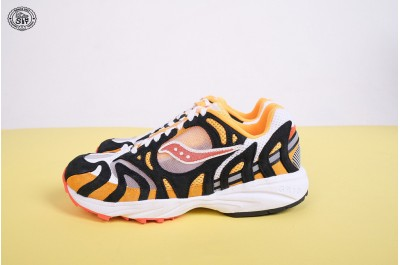 SAUCONY GRID AZURA 2000 WHITE ORANGE BLACK